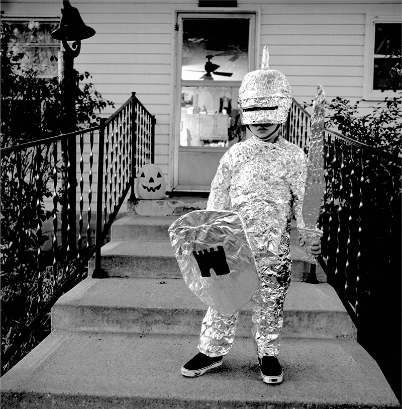 A boy wears a knight costume circa 1940s. (Michael Martinu2014Corbis) & See How Kids Used to Celebrate Halloween From the 1930s Through the ...