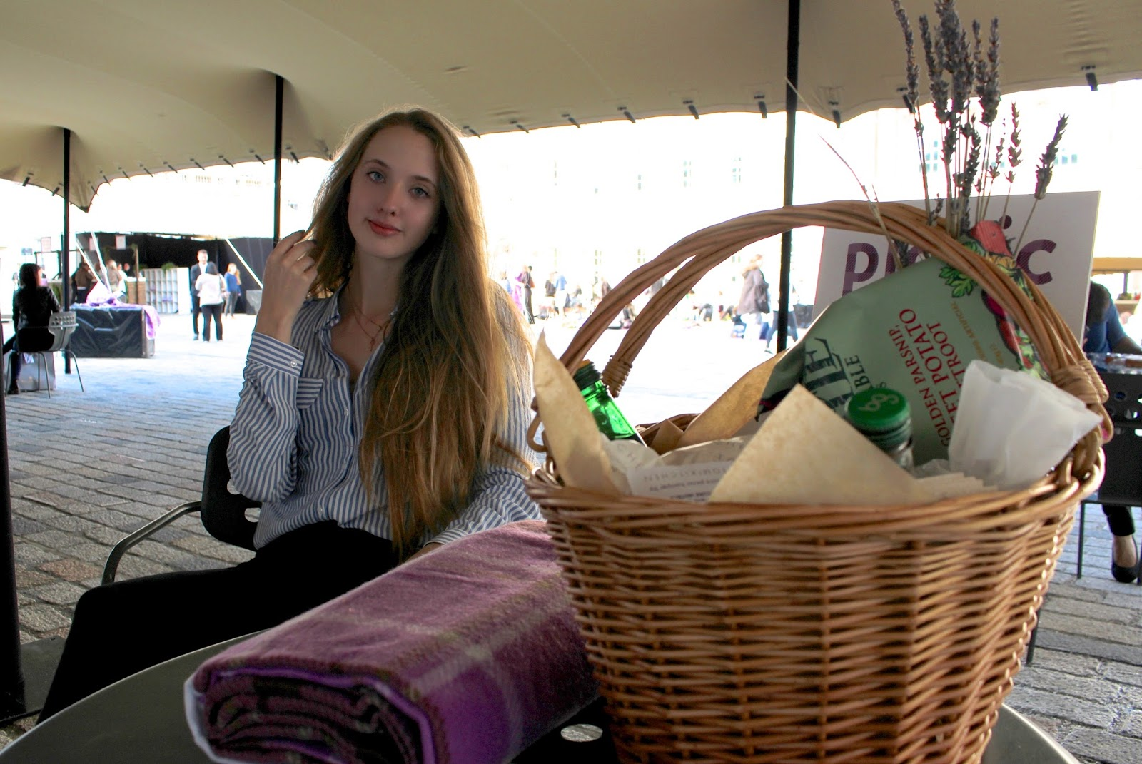 Blogger at Somerset House #PicnicWithMercure event