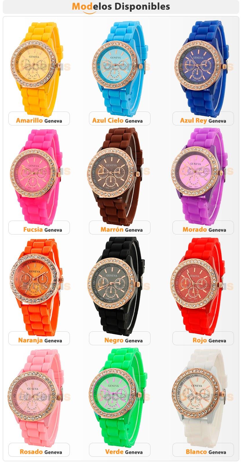 d6c4f2927fdc Relojes de DAMA marca GENEVA -MICHAEL KORS- MULCO- TECHNOSPORT - muchos  modelos