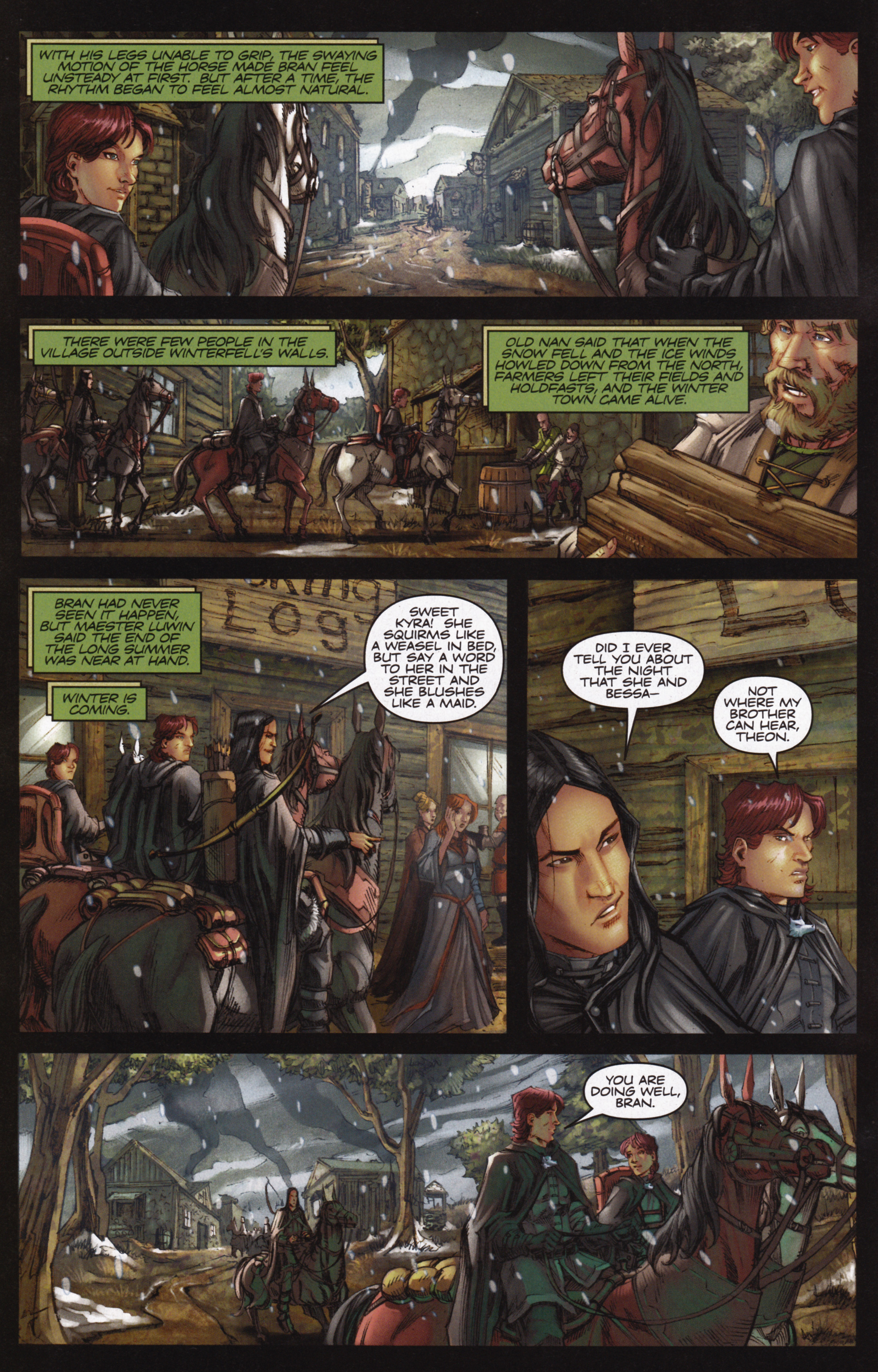 Read online A Game Of Thrones comic -  Issue #12 - 4