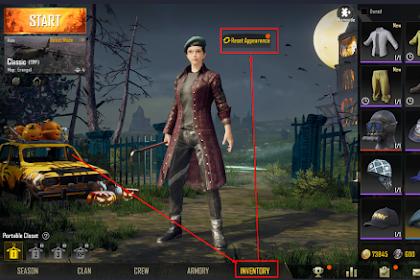 Cara Mengganti Karakter Game Di PUBG Mobile Android
