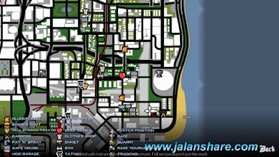 Screnshot Game GTA SA Lite Untuk Android