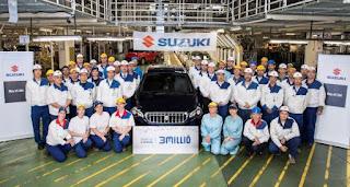 Suzuki - 3 milioane de unitati