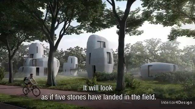 The World's First Residential Project Using 3D Printing Technology