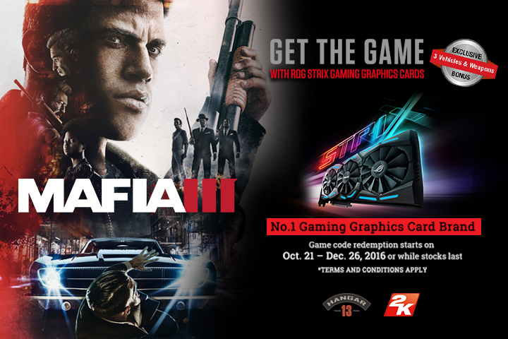 ASUS Mafia III Game Bundles