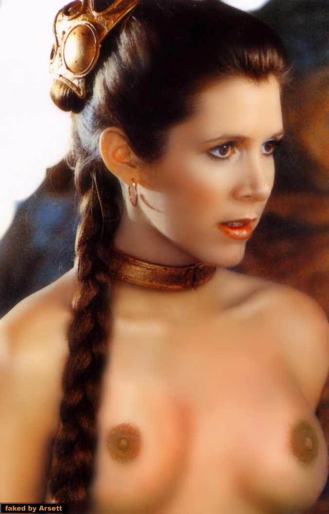 carrie fisher sexy nackt