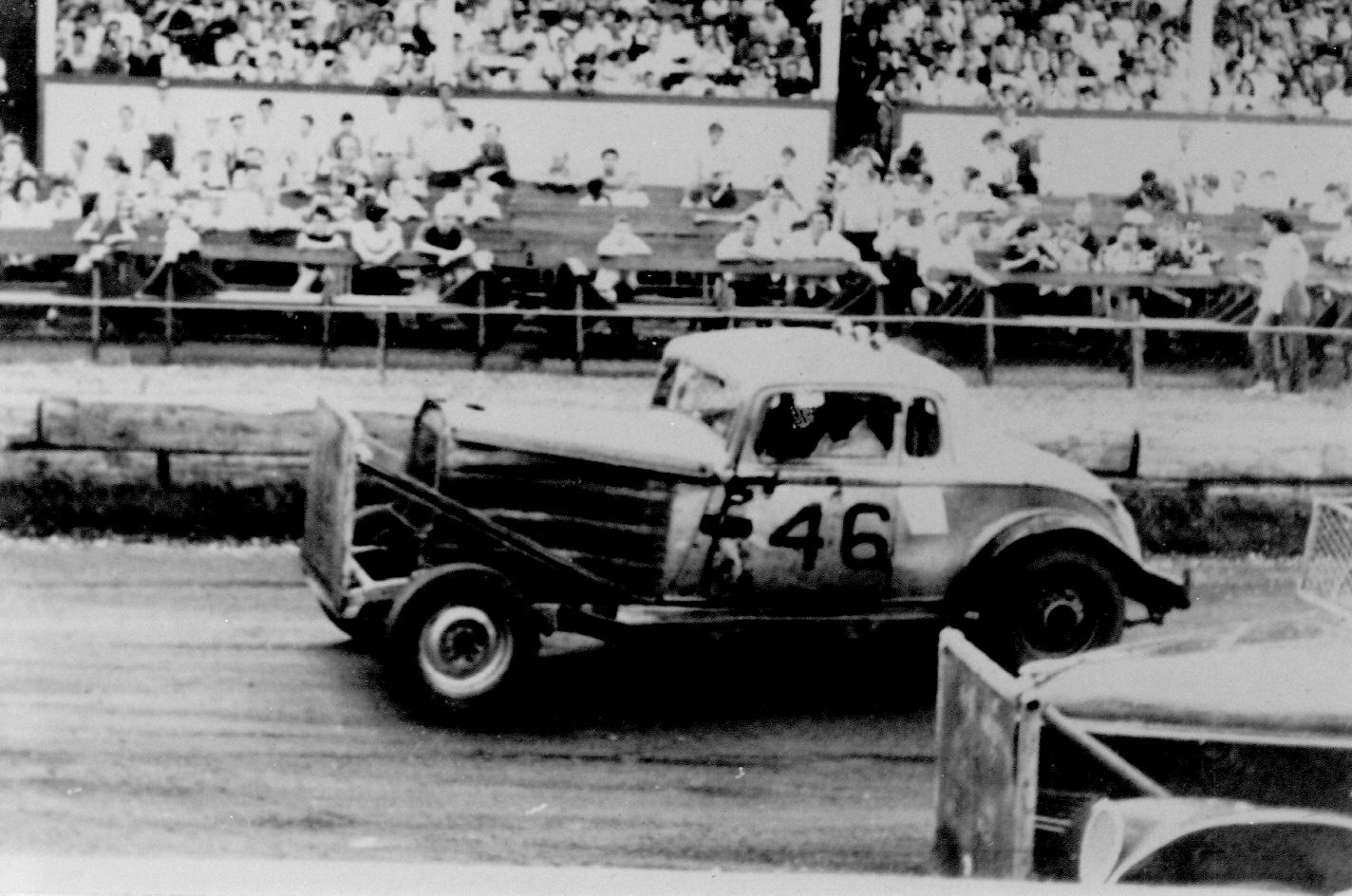 HOT RODS and JALOPIES: CLE Grandstand late 1950's and early