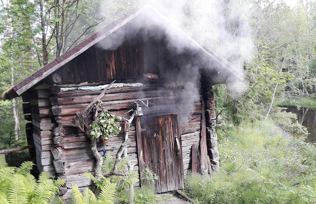 Original smokesauna in Finland