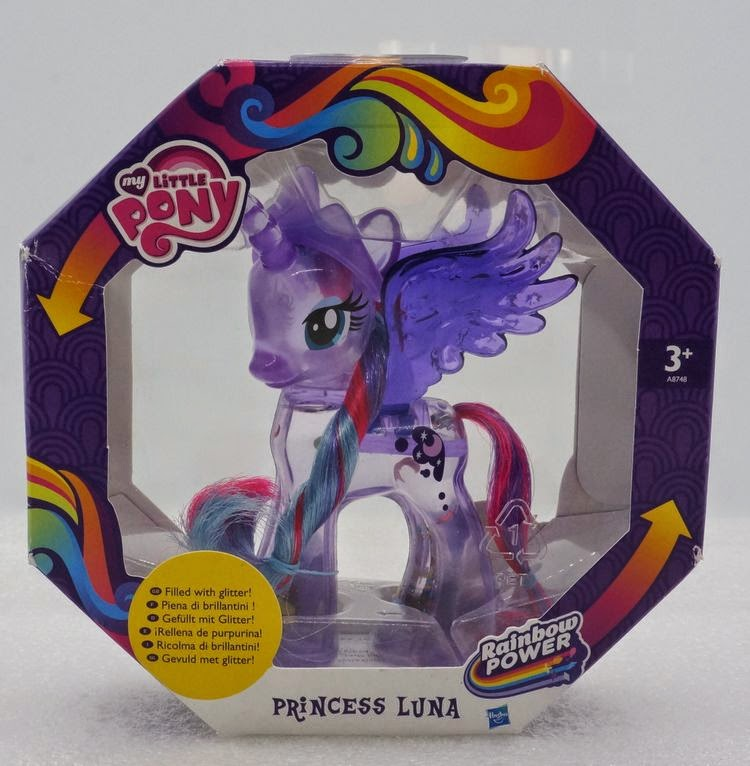 Snowglobe Princess Luna in packaging