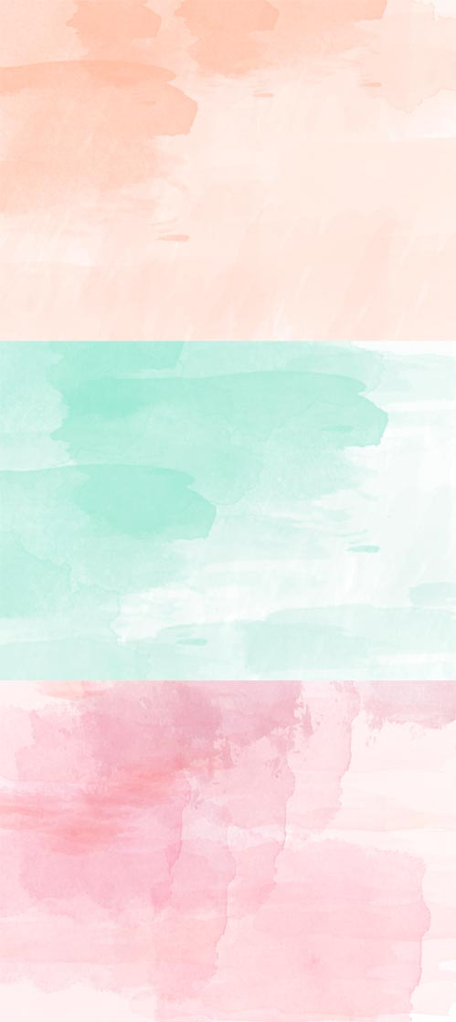 Gratis Wallpaper Hello Watercolor! by Pixejoo
