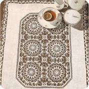 """Tapete """"Mozaico"""" a Crochet o Ganchillo"""