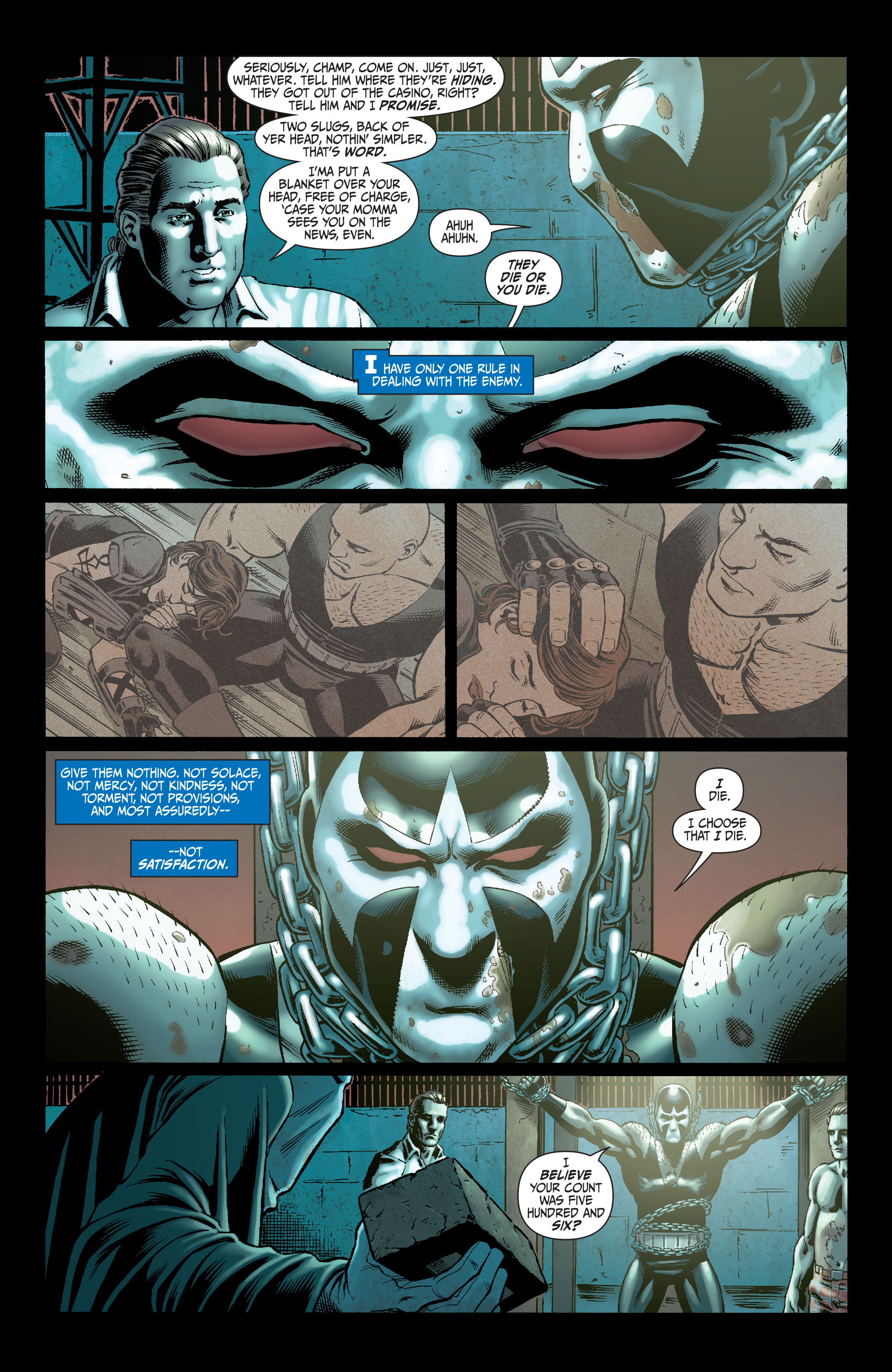 Read online Secret Six (2008) comic -  Issue #5 - 7