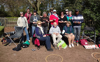 Woodstock Petanque Club at Alexandra Park in Edgeley, Stockport