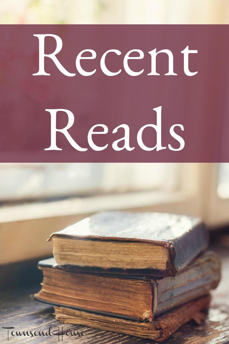 Recent Reads - Book Reviews