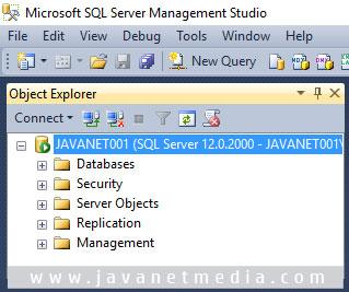 Pengaturan Awal Database SQL Server