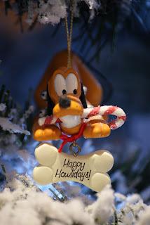 Happy Howlidays - Pluto Christmas Tree Ornament