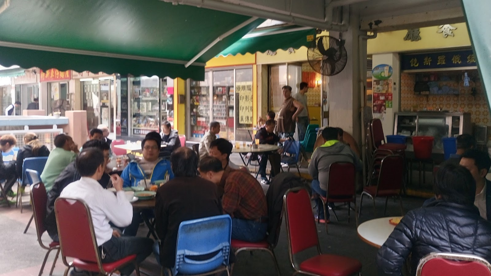 香港魂: 隠れ家茶餐廳シリーズ~榮樂茶餐廳