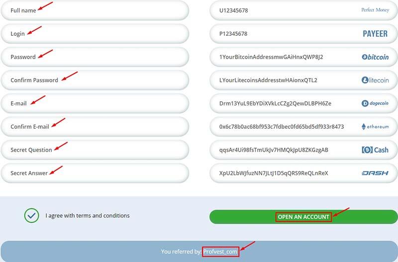 Регистрация в Signum Trade LTD 2