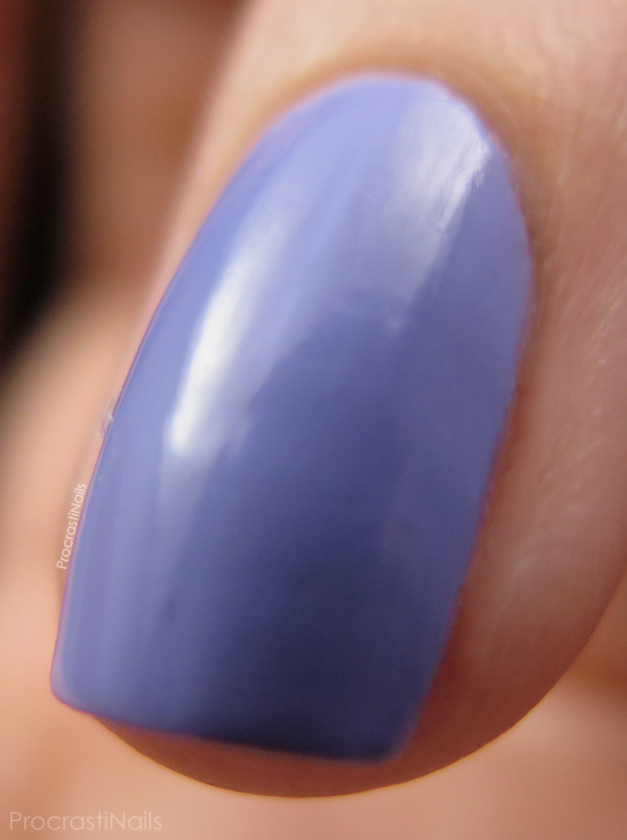 Macro of Wisteria Haze from the CND Vinylux Garden Muse Collection