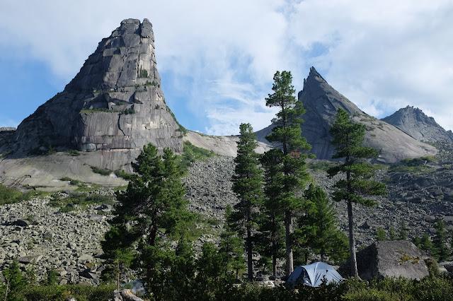 Каменные гиганты Красноярского края  Россия