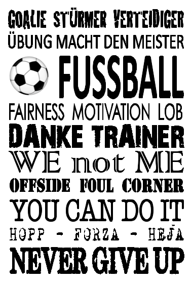 Danke An Den Fußballtrainer Fußball Sprüche Nur Die