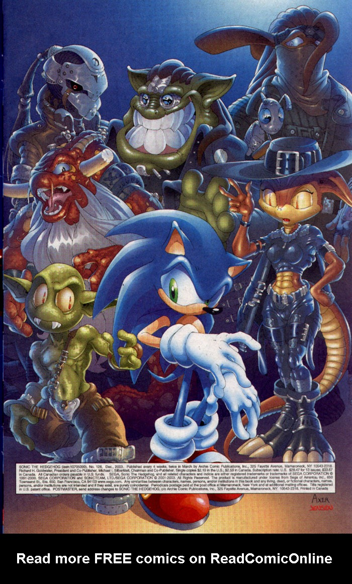 Read online Sonic The Hedgehog comic -  Issue #128 - 2