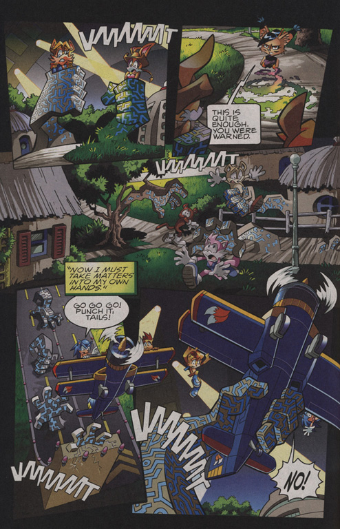 Read online Sonic The Hedgehog comic -  Issue #208 - 18