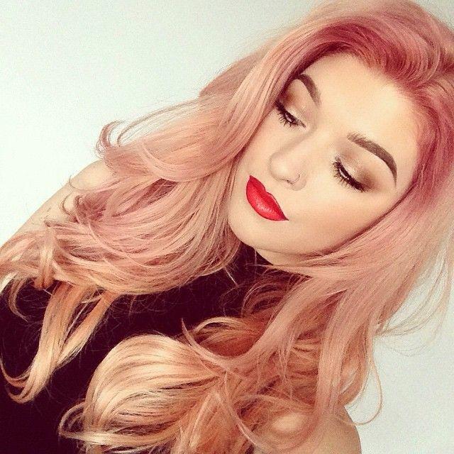 La Moda En Tu Cabello Tono De Pelo Oro Rosado Oto 241 O