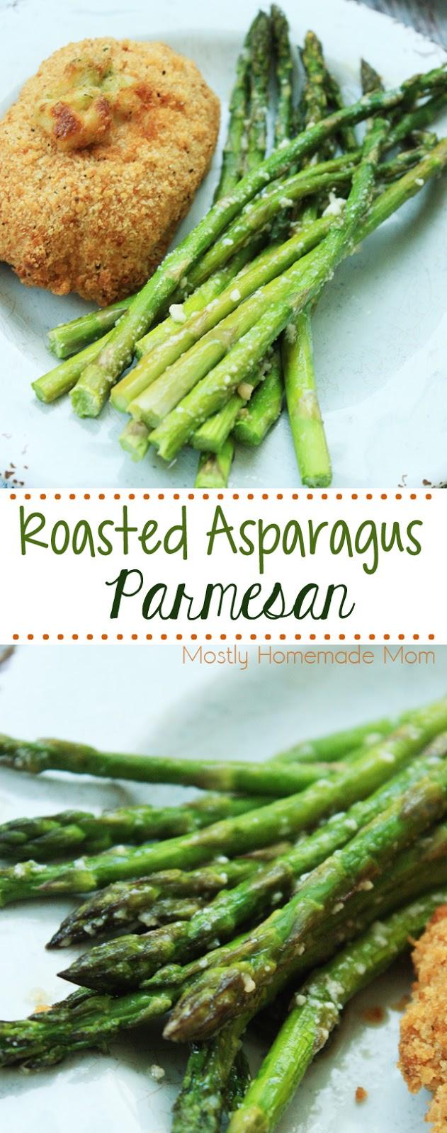 Baked Asparagus Parmesan