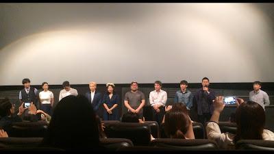 Yeon Woo-jin, Seo Ye-ji, Jeon Seok-ho, Xiumin, Ra Mi-ran, Ko Chang-seok, Cho Jae-hyun, and Yoo Seung-ho (from left)