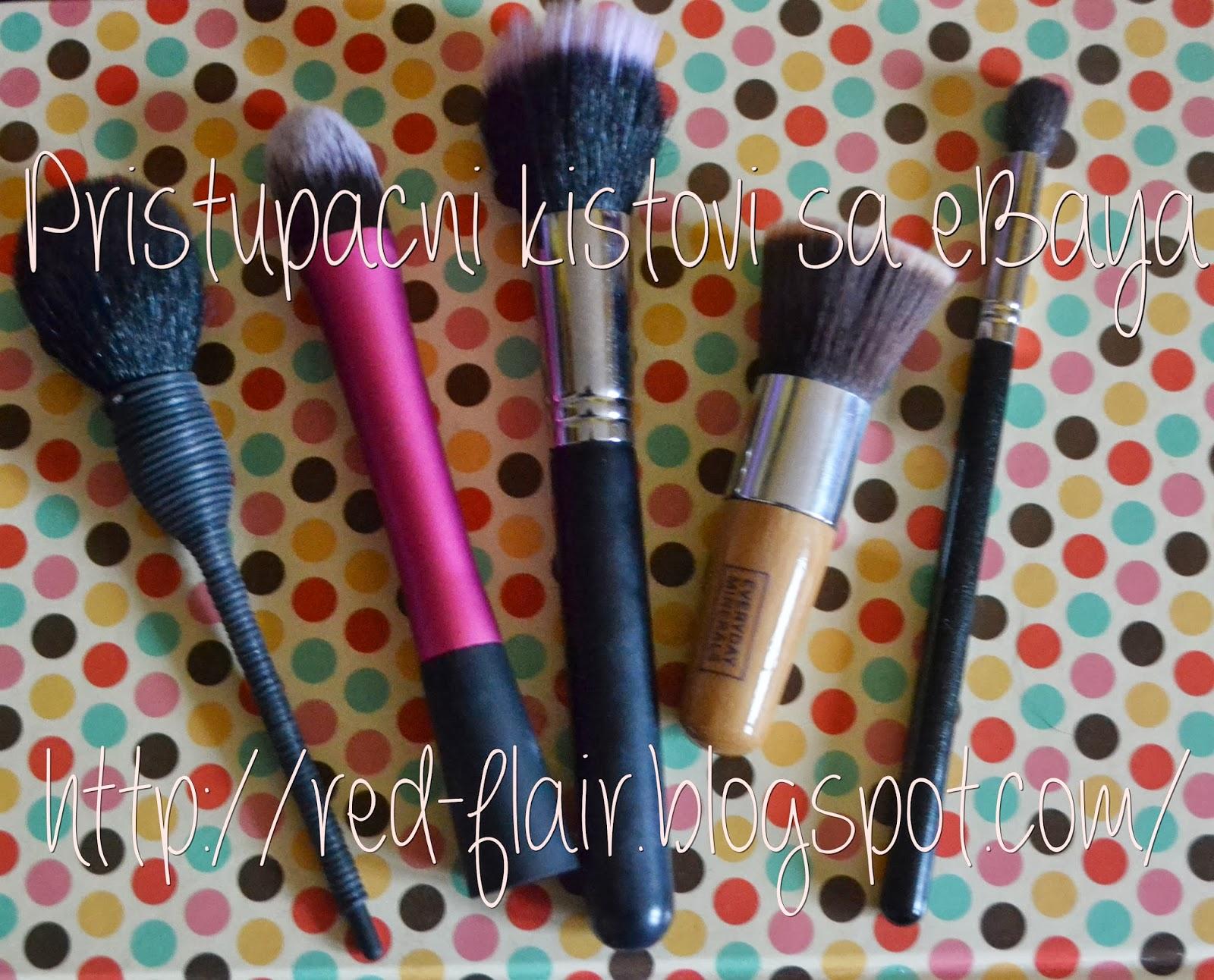 Kolektivna Recenzija Kistova Za šminku I Nail Art Ebay 1