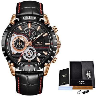L9842 LIGE Watches| 5 Summer Quartz Watches Under $50