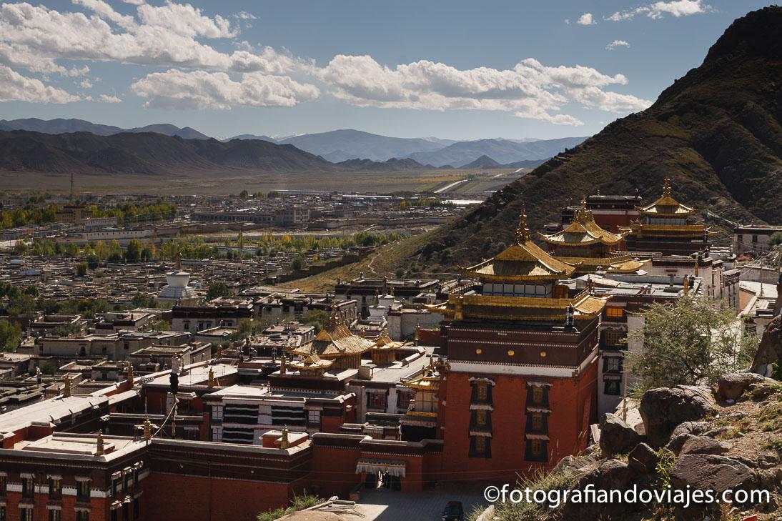 Shigatse en Tibet