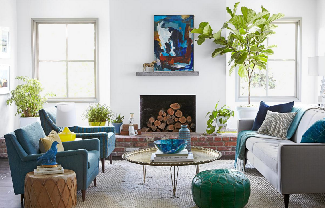 Four best ways to decorate each side of the fireplace! - Interior ...