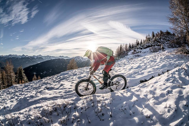 Mountainbike Winter Hoher Lorenzenberg