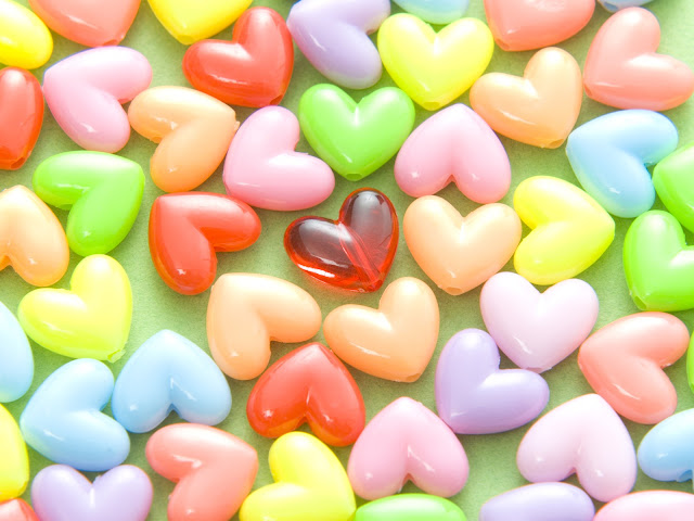 Valentine's Day Heart Shaped Candy Images