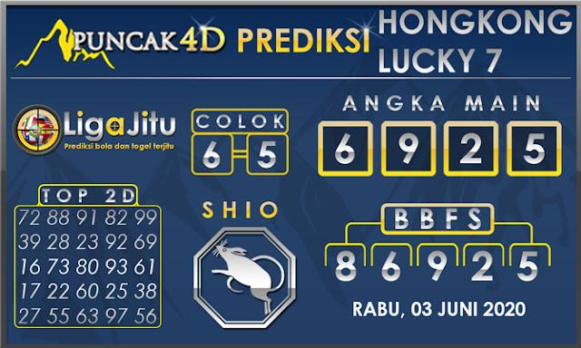 PREDIKSI TOGEL HONGKONG LUCKY 7 PUNCAK4D 03 JUNI 2020