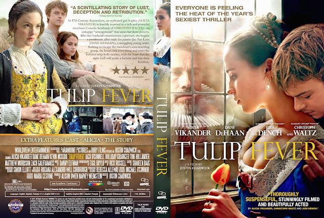 Tulip Fever DVD Cover