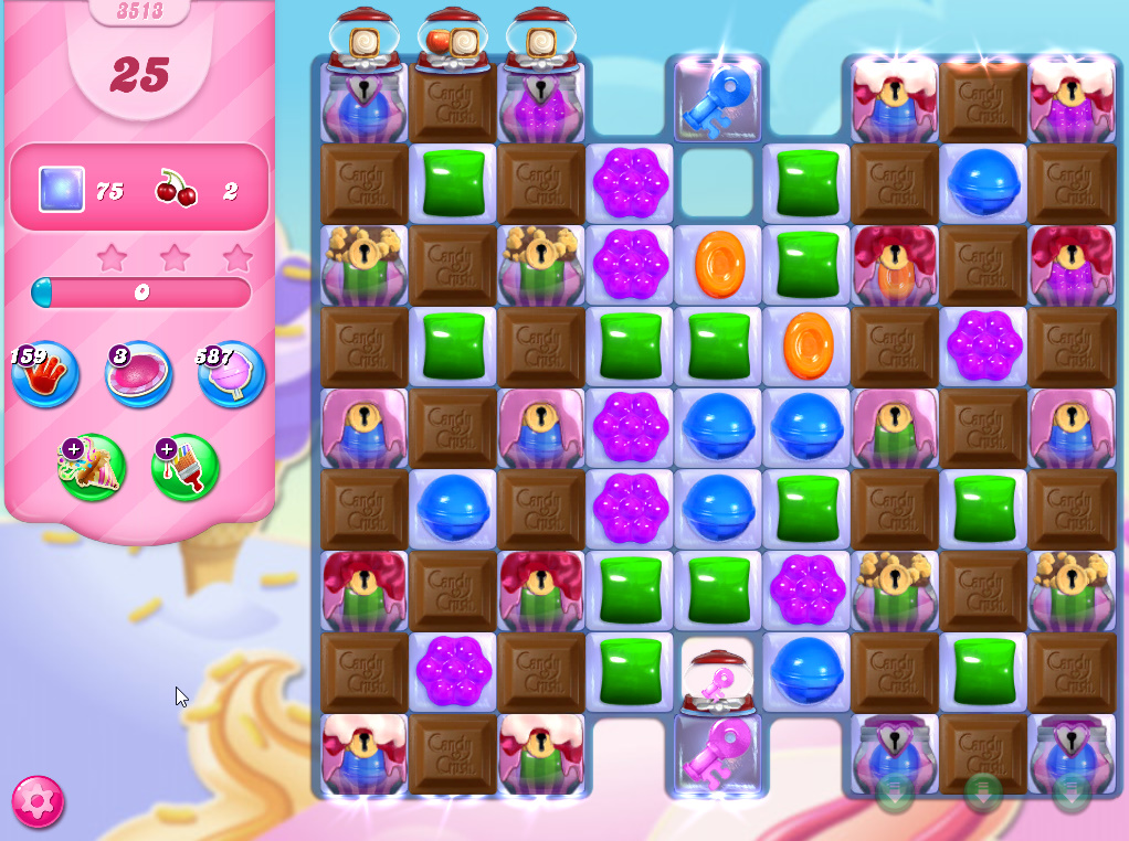 Candy Crush Saga level 3513