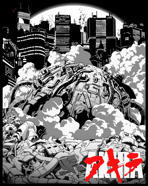 Chaos. A poster tribute for Akira.
