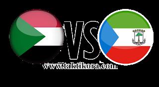 السودان وغينيا الإستوائية بث مباشر اليوم