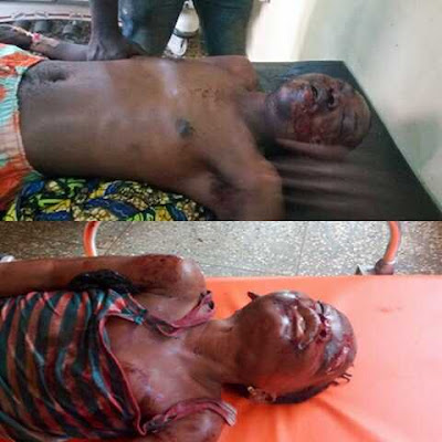 Ritualists Cut-open the Heads of Mom and 3 Children in Lagos