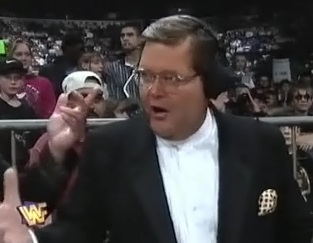 WWF / WWE - In Your House 11: Buried Alive - Jim Ross was angry about his microphone not working
