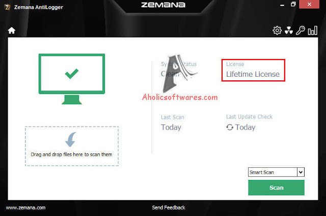 Zemana AntiLogger Premium recognizes, prevents and blocks any kind of online identity theft and financial deception.
