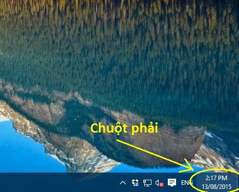 Định dạng, chỉnh ngày tháng trên Windows 10