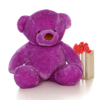 Lila Chubs from Giant Teddy is Purple Heaven