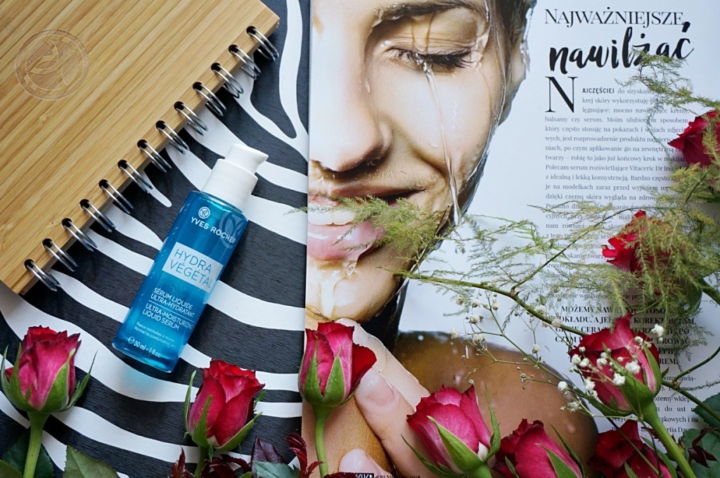 Yves Rocher Hydra Vegetal serum do twarzy nawilżanie