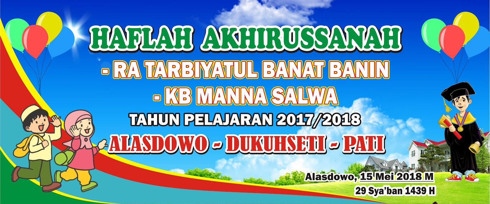 Contoh Banner Perpisahan Pelepasan Siswa