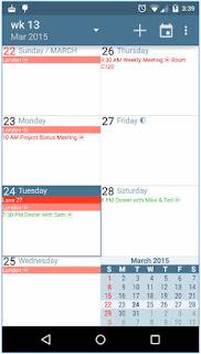 download Aplikasi Kalender Android terbaik gratis aCalendar