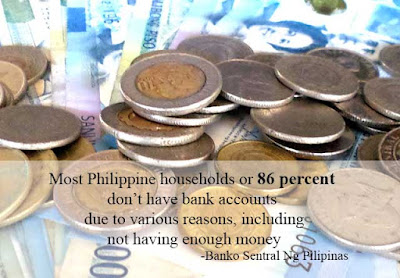 86% of Philippine household don't have bank accounts